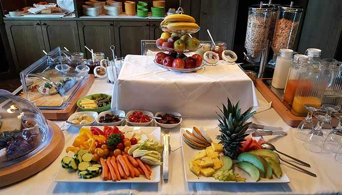 Buffet Oase Weil Baumhaushotel