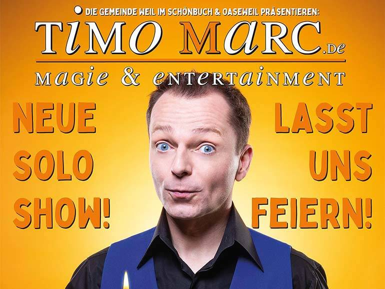 Plakat Timo Marc