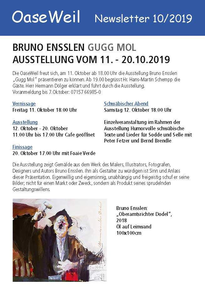 Newsletter Archiv Bruno Ensslen
